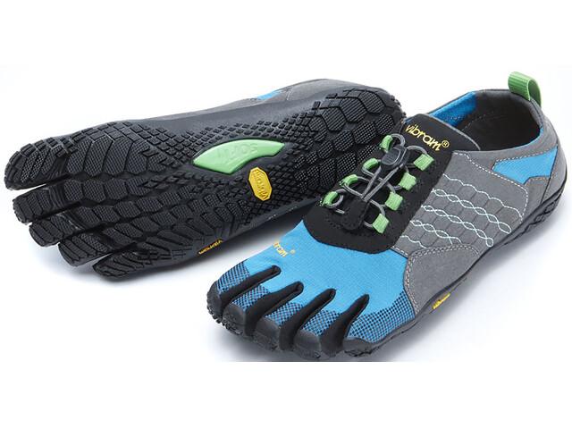 FiveFingers W's Trek Ascent Shoes Grey/Blue/Green